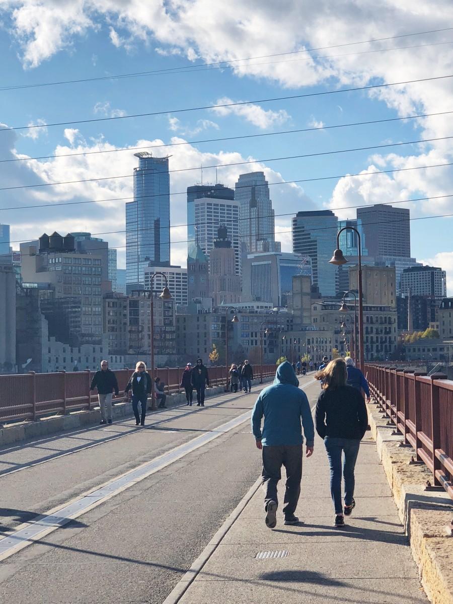 Stone Arch Bridge - Minneapolis Minnesota - Her Heartland Soul