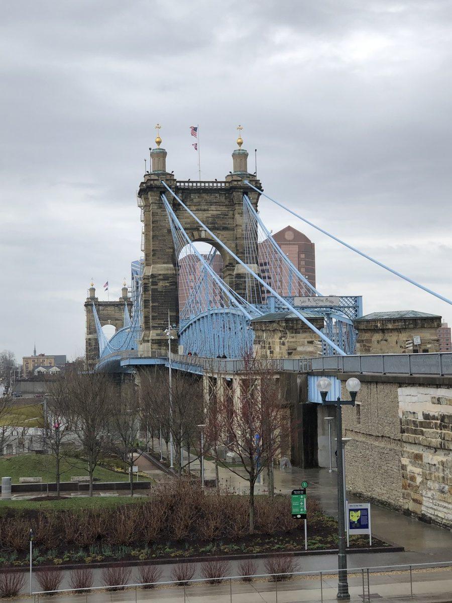 Roebling Bridge Cincinnati Ohio Her Heartland Soul