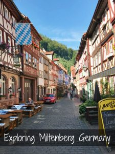 Exploring Miltenberg Germany