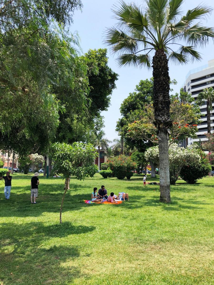 Miraflores Park Lima Peru - Her Heartland Soul
