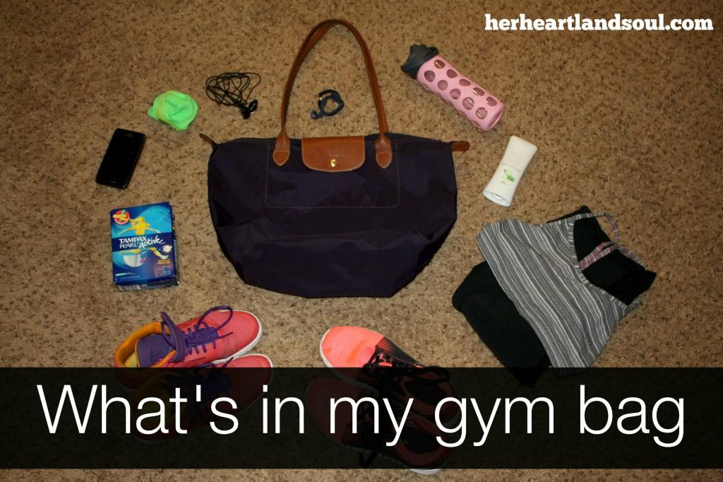 Gym Bag Her Heartland Soul Erin Fairchild