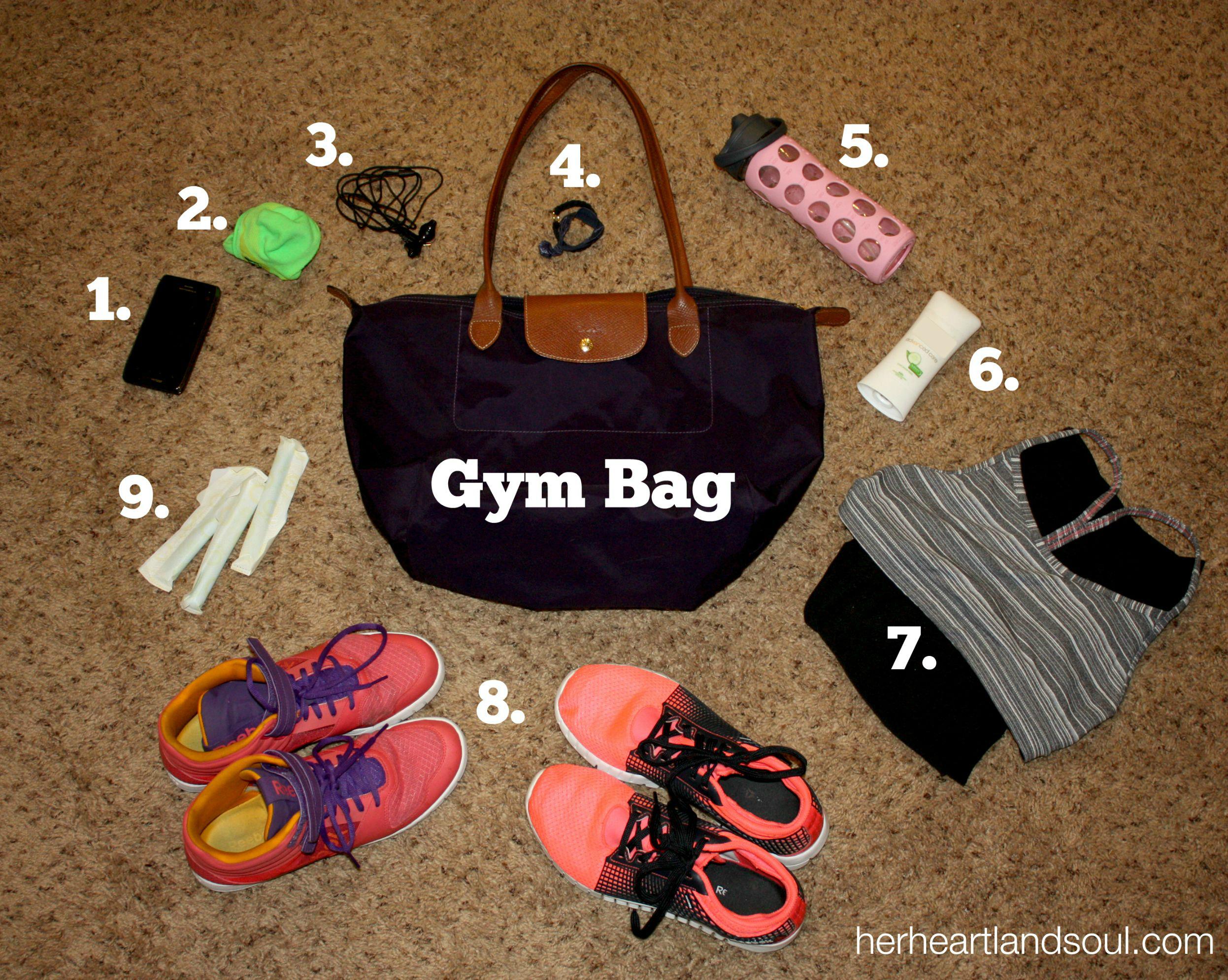 Gym Bag Contents Her Heartland Soul Erin Fairchild