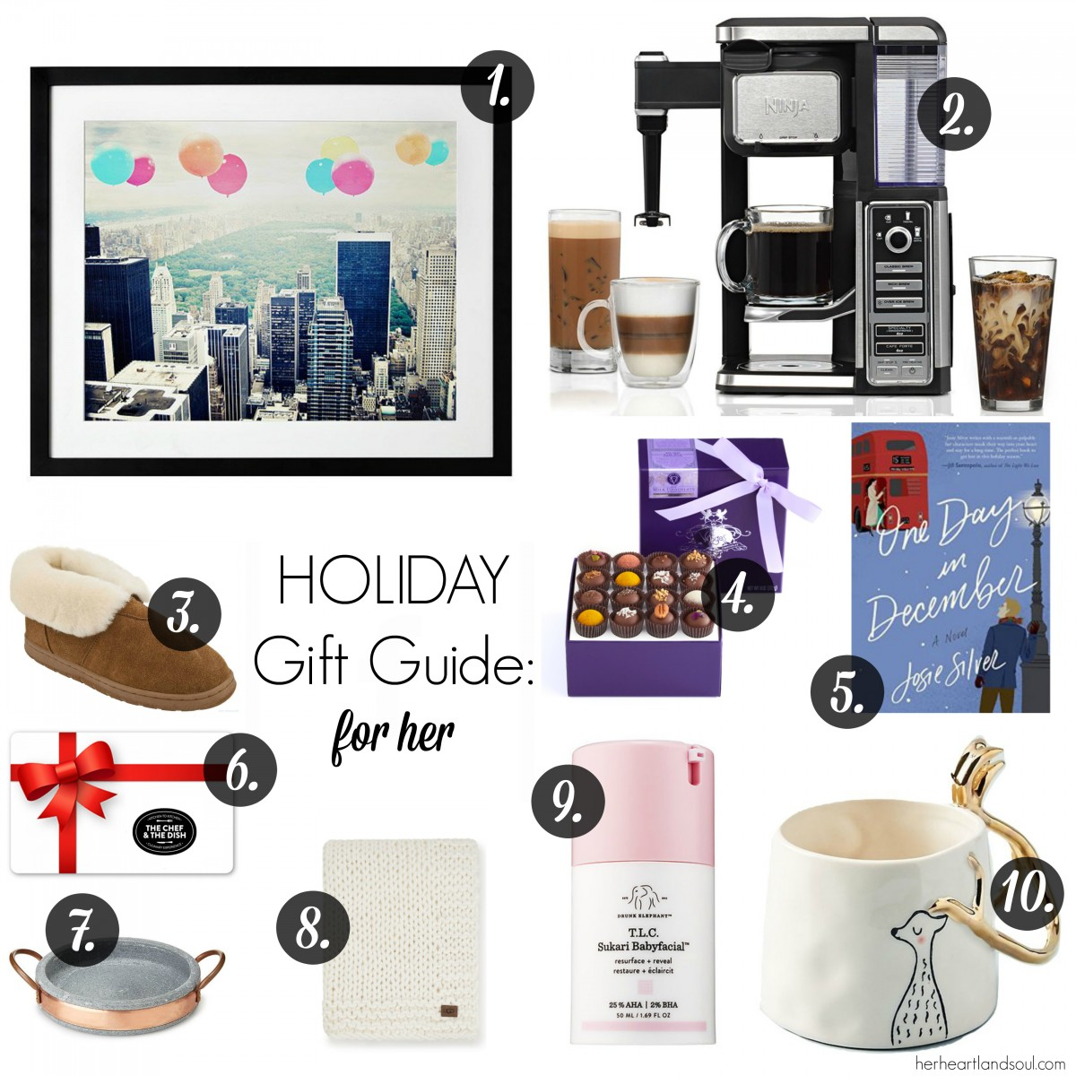 Holiday Gift Guide: For Her - Her Heartland Soul