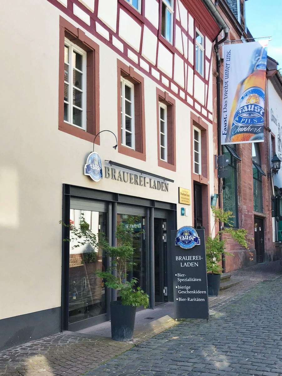Faust Brewery Miltenberg Germany Her Heartland Soul