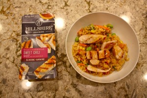 Hillshire Snacking Sweet Chili Chicken Fried Rice Erin Fairchild Her Heartland Soul