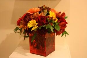 Sweet surprise from Josh Thanksgiving Flowers Her Heartland Soul Erin Fairchild