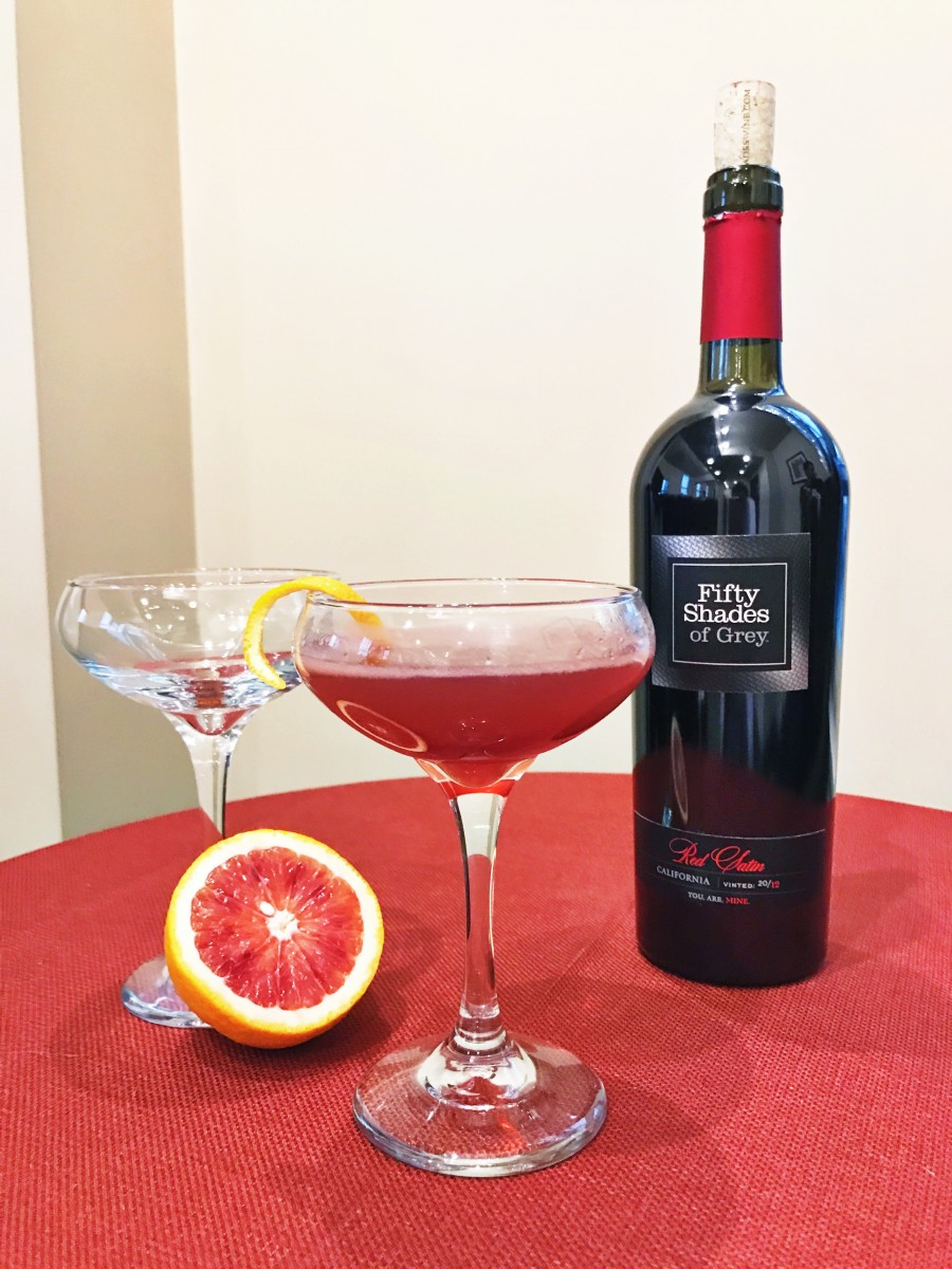 The Sultry Sour Fifty Shades Cocktail Her Heartland Soul