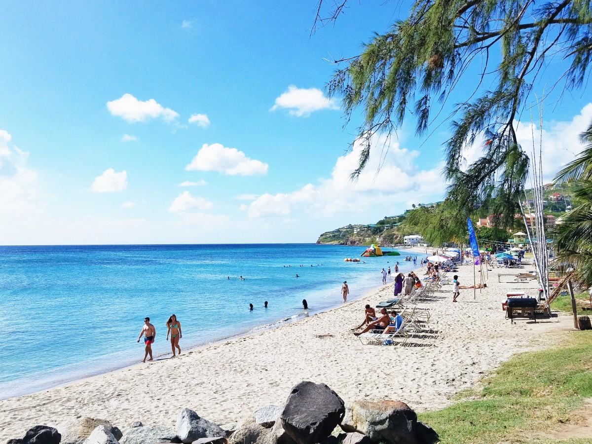 Frigate Bay Beach St Kitts Her Heartland Soul