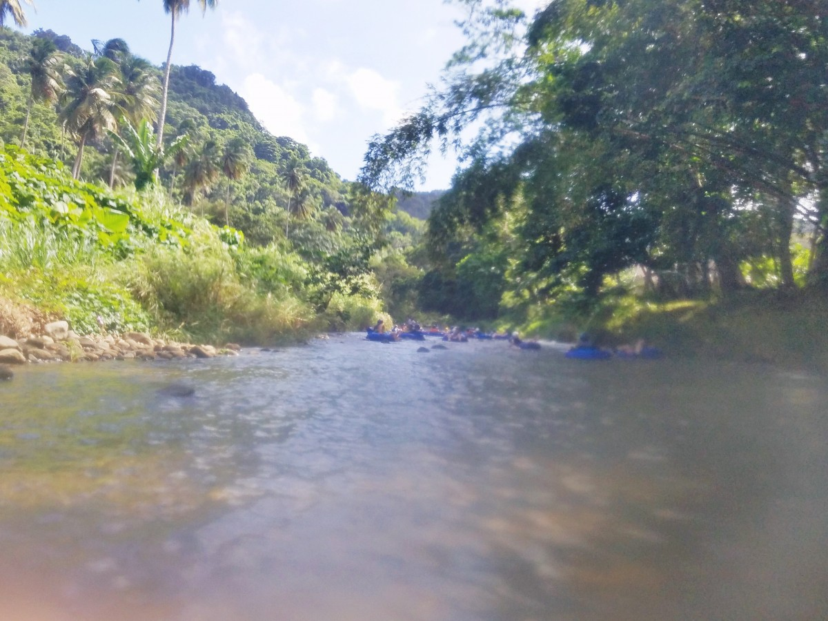 River Rafting in Dominica Her Heartland Soul