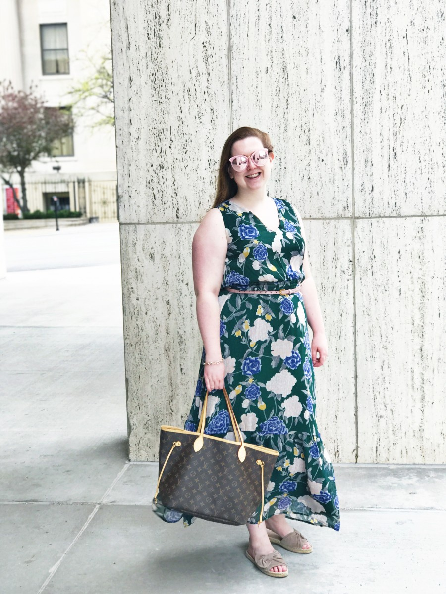 Target Floral Maxi Dress Her Heartland Soul