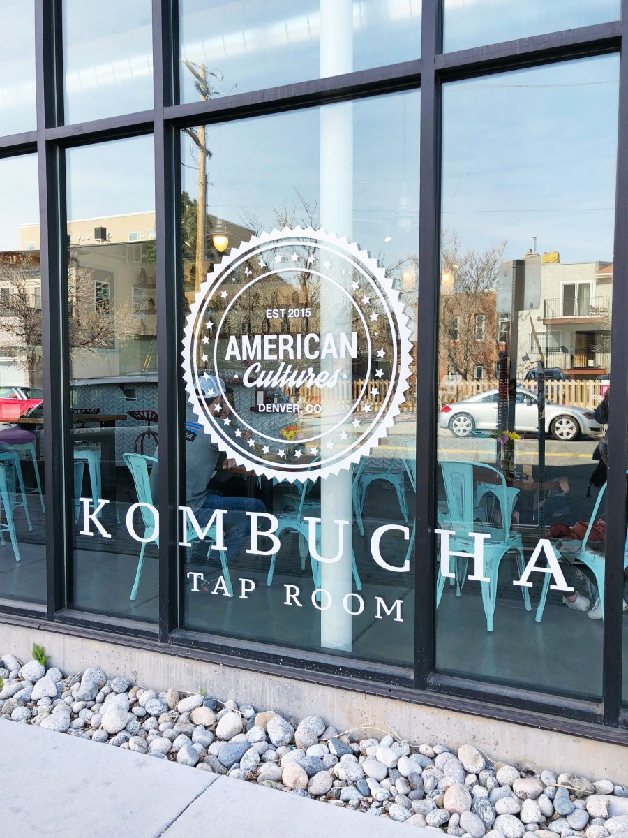 American Cultures Kombucha Tap Room Denver Colorado Her Heartland Soul
