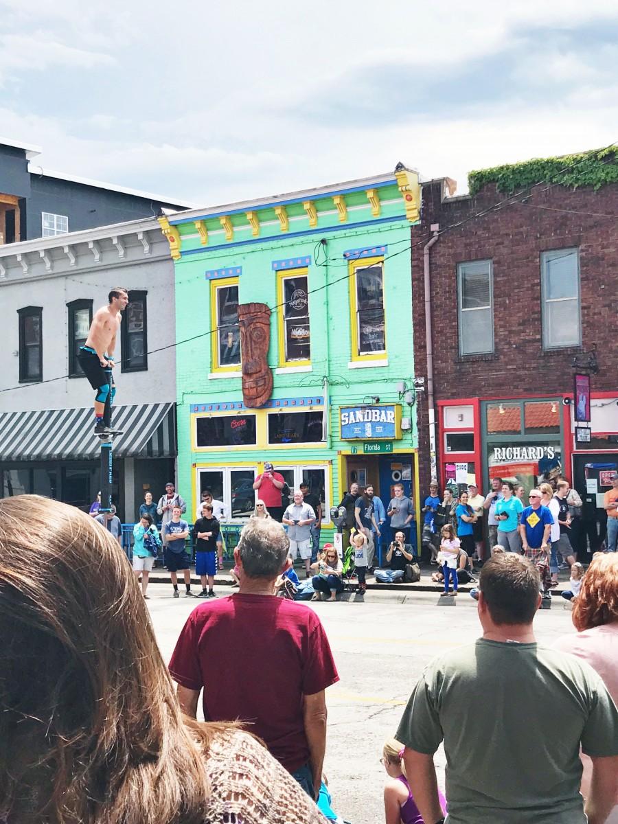 Lawrence Kansas Busker Festival Her Heartland Soul