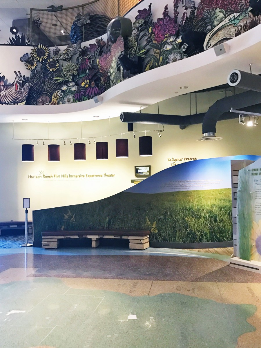 Flint Hills Discovery Center Manhattan Kansas Her Heartland Soul