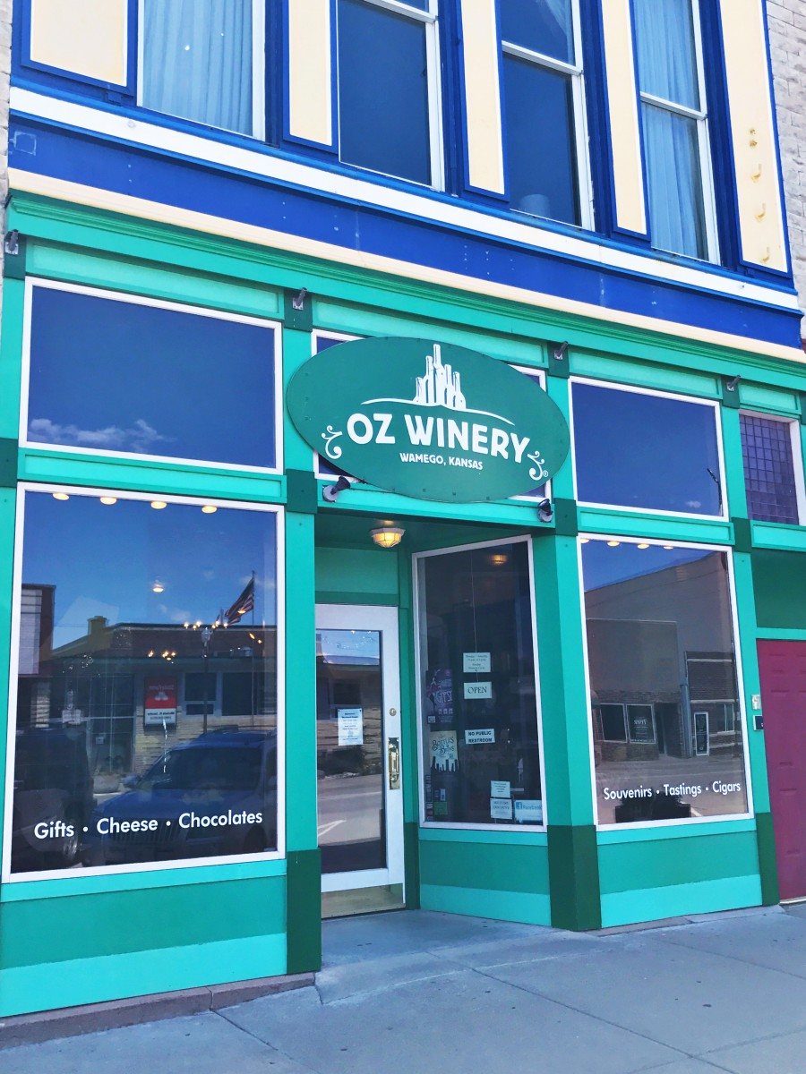 Oz Winery Wamego Kansas Her Heartland Soul
