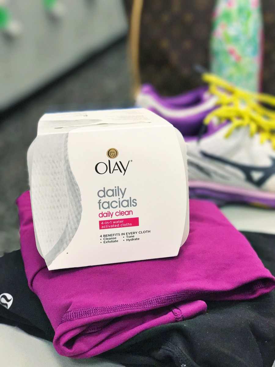 wash your face after workout olay daily facial her heartland soul