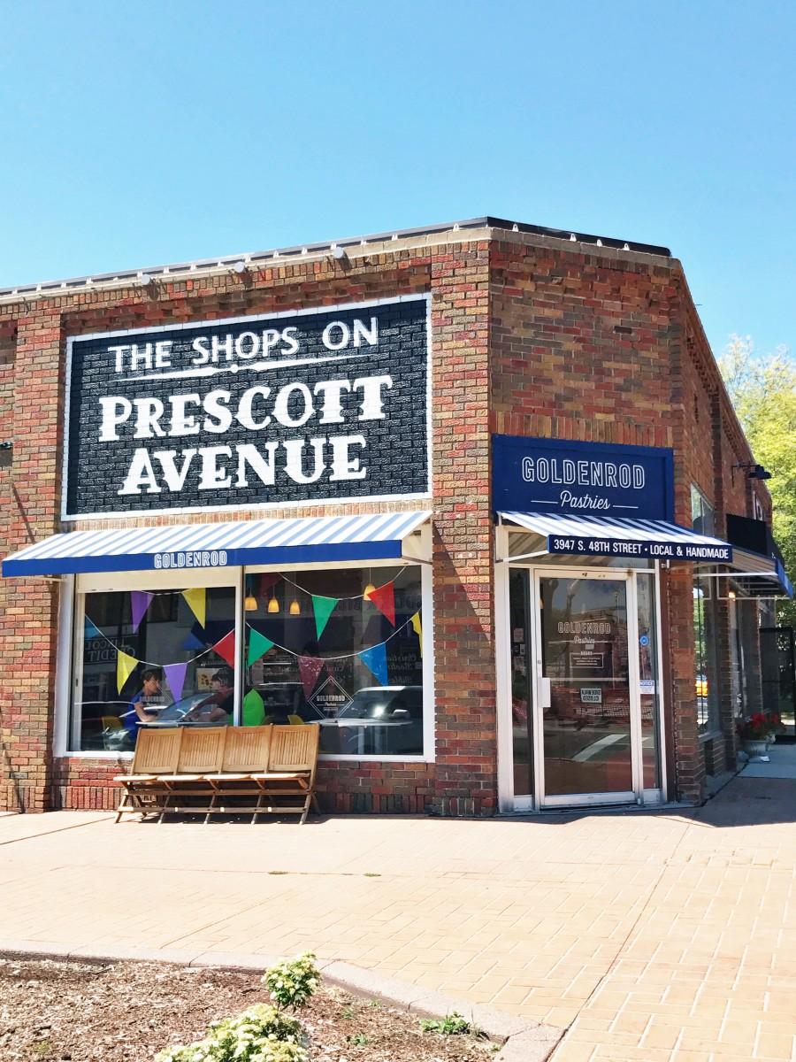 Shops on Prescott Avenue Lincoln Nebraska Her Heartland Soul