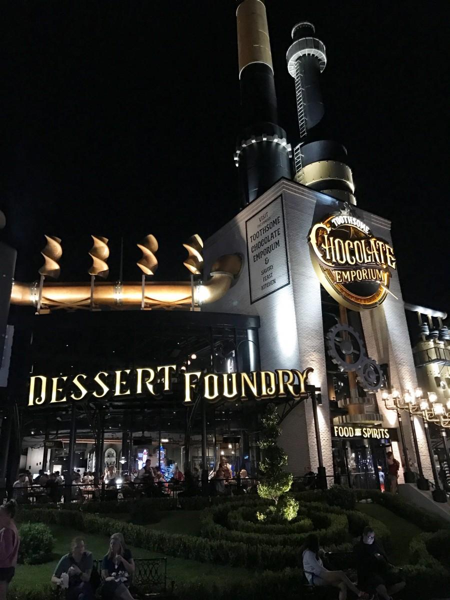 Toothsome Chocolate Emporium Universal Citywalk Orlando Her Heartland Soul