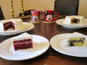 Girl Gone Veggie Mickey Minnie Mouse Wedding Cake Tasting