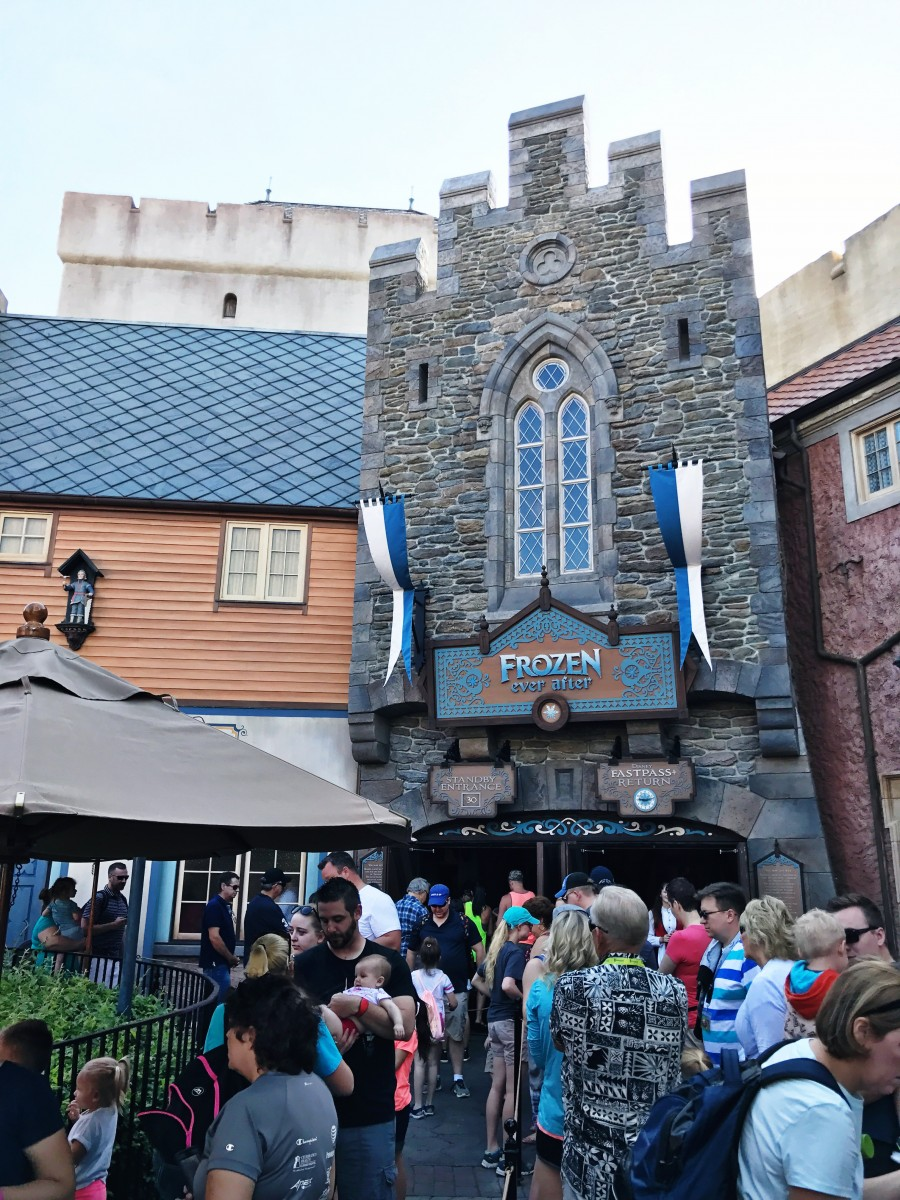 Frozen Ever After Epcot Her Heartland Soul