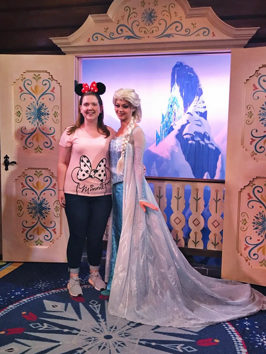 Meeting Elsa Frozen Epcot Her Heartland Soul
