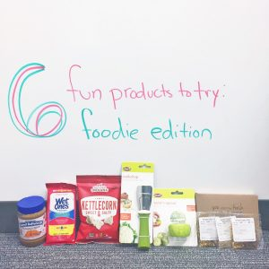 6 fun products to try: foodie edition