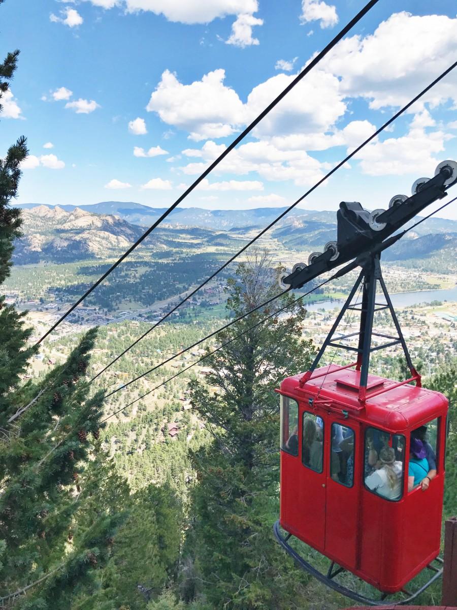 Estes Park Aerial Tramway Colorado Her Heartland Soul