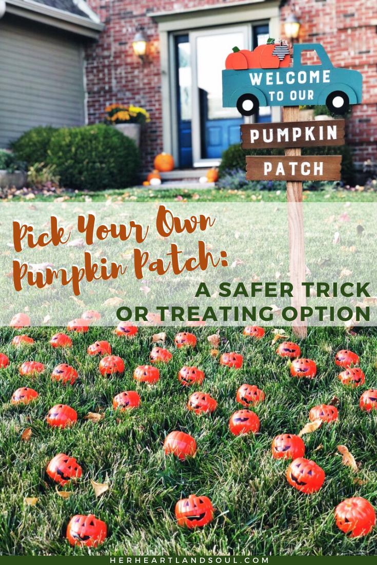 A Safe Trick or Treating Idea for 2020 Quarantine Halloween.