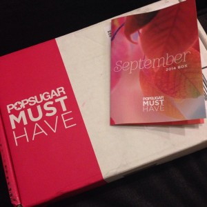 September POPSUGAR Must Have Box Review and Giveaway Erin Fairchild Her Heartland Soul