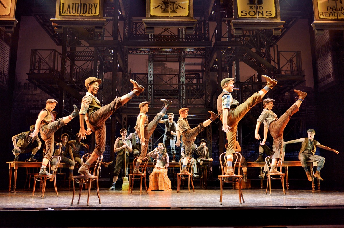 Newsies Omaha Nebraska Broadway Her Heartland Soul