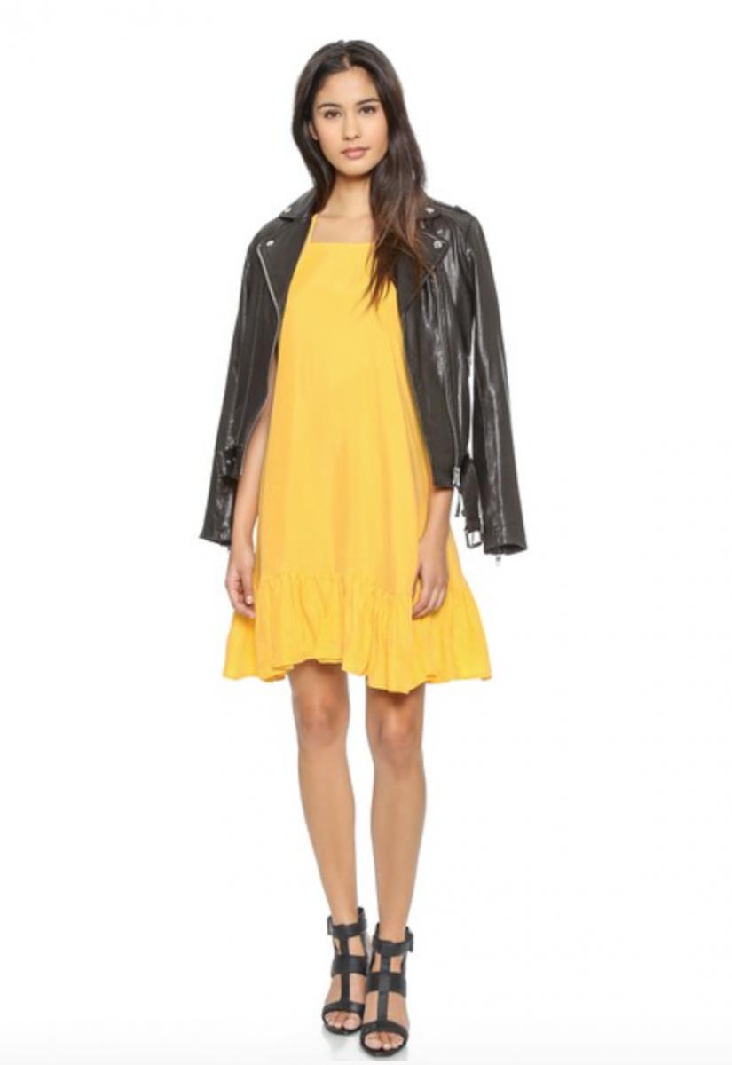 One Teaspoon Luxe Cupro Dress