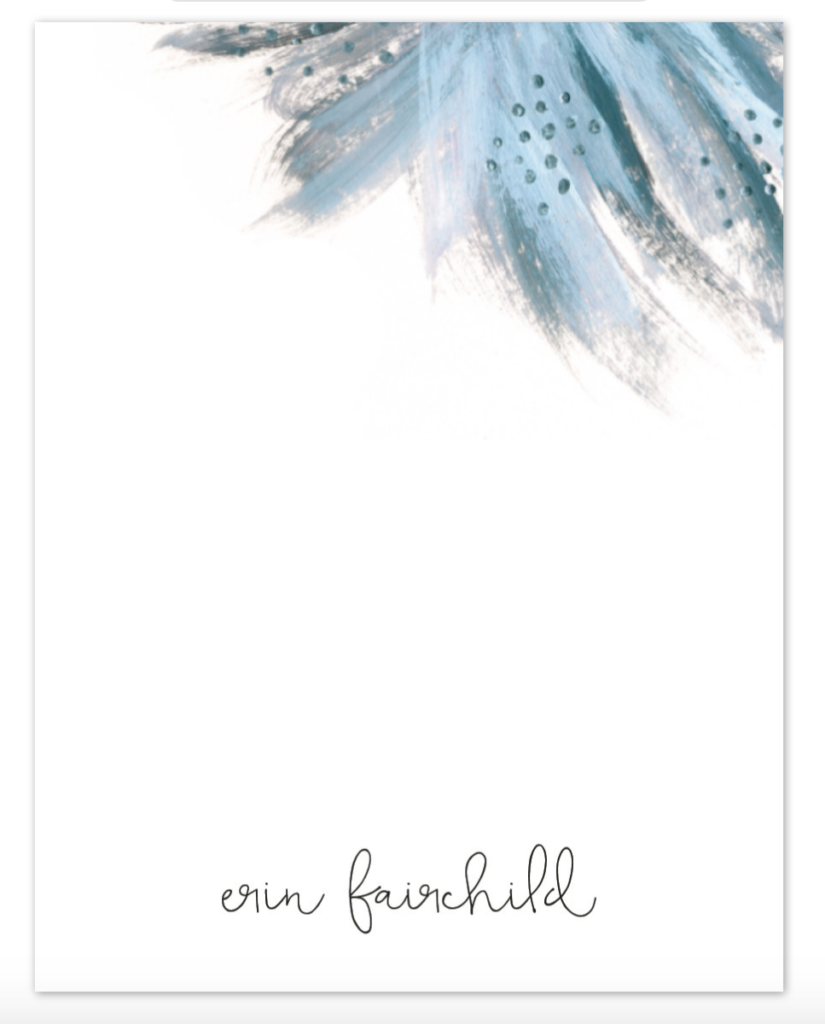 Minted Shining Statement Personalized Stationary - Christmas Gift Ideas for Her - Her Heartland Soul