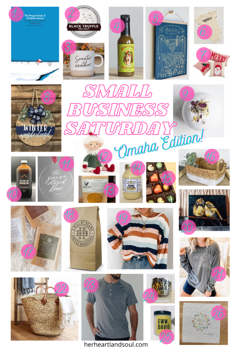Small Business Saturday Omaha Edition - Her Heartland Soul