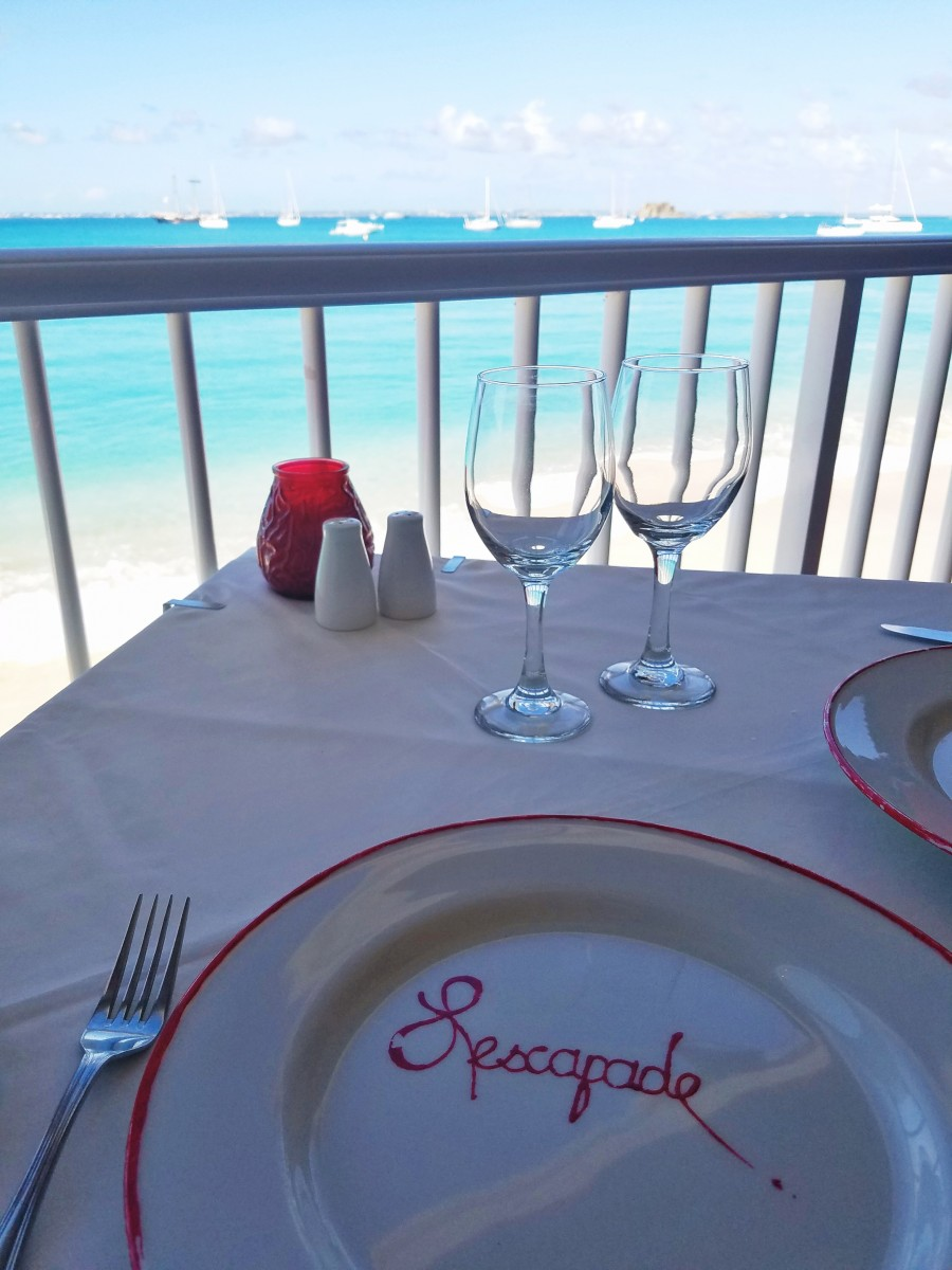 Dining in St. Martin Southern Caribbean - Her Heartland Soul