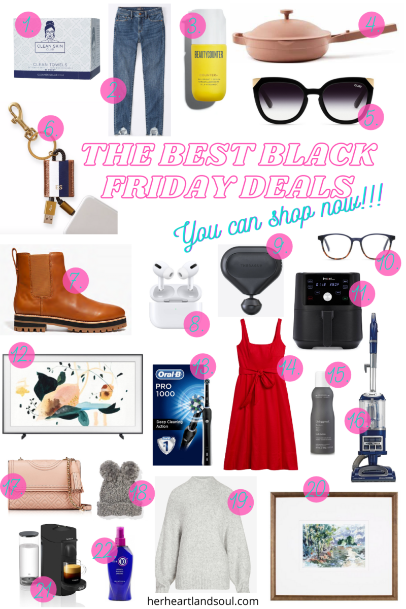 The Best Black Friday Deals You Can Shop Now- Her Heartland Soul