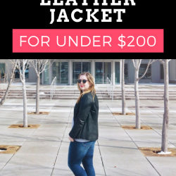 The Ultimate Leather Jacket for Under $200 - Her Heartland Soul