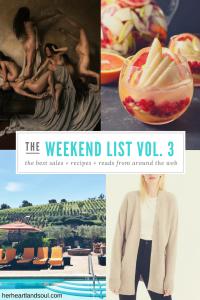 The Weekend List Vol. 3 - Her Heartland Soul