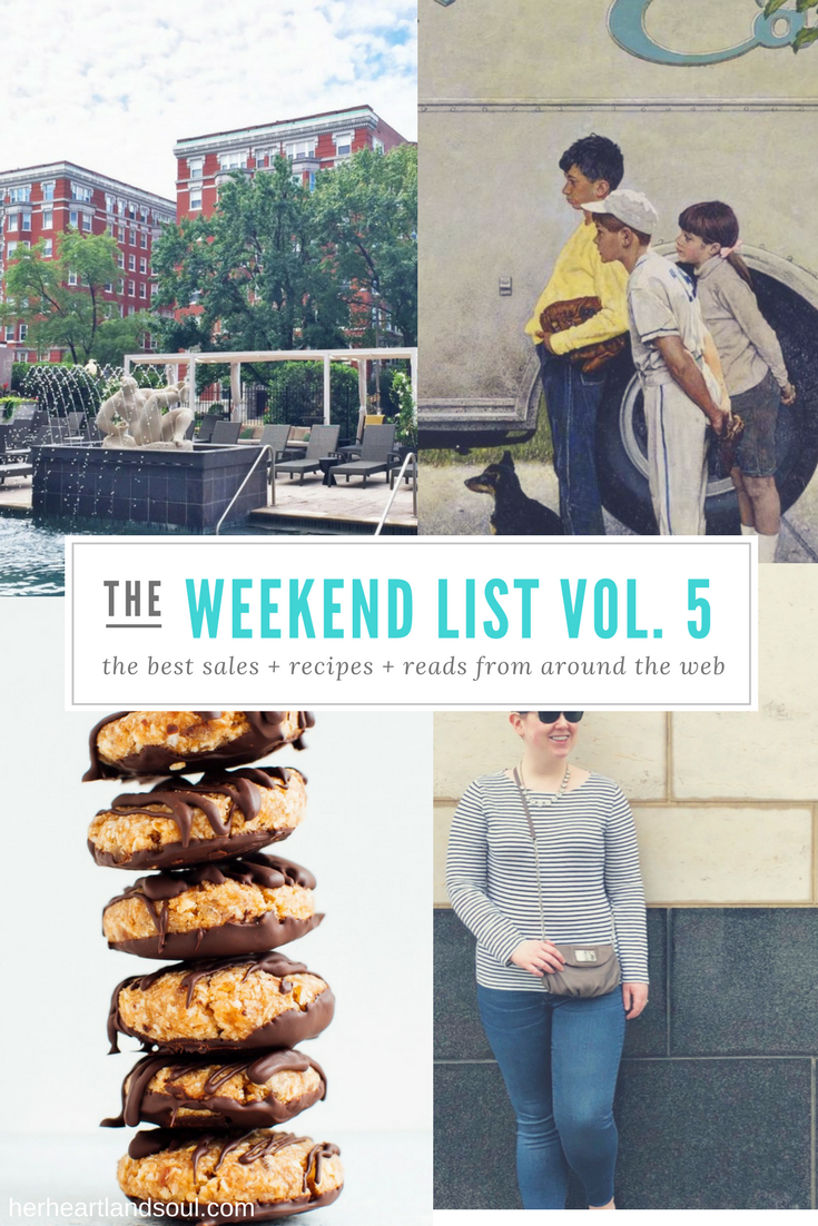 The Weekend List Vol. 5 - Her Heartland Soul
