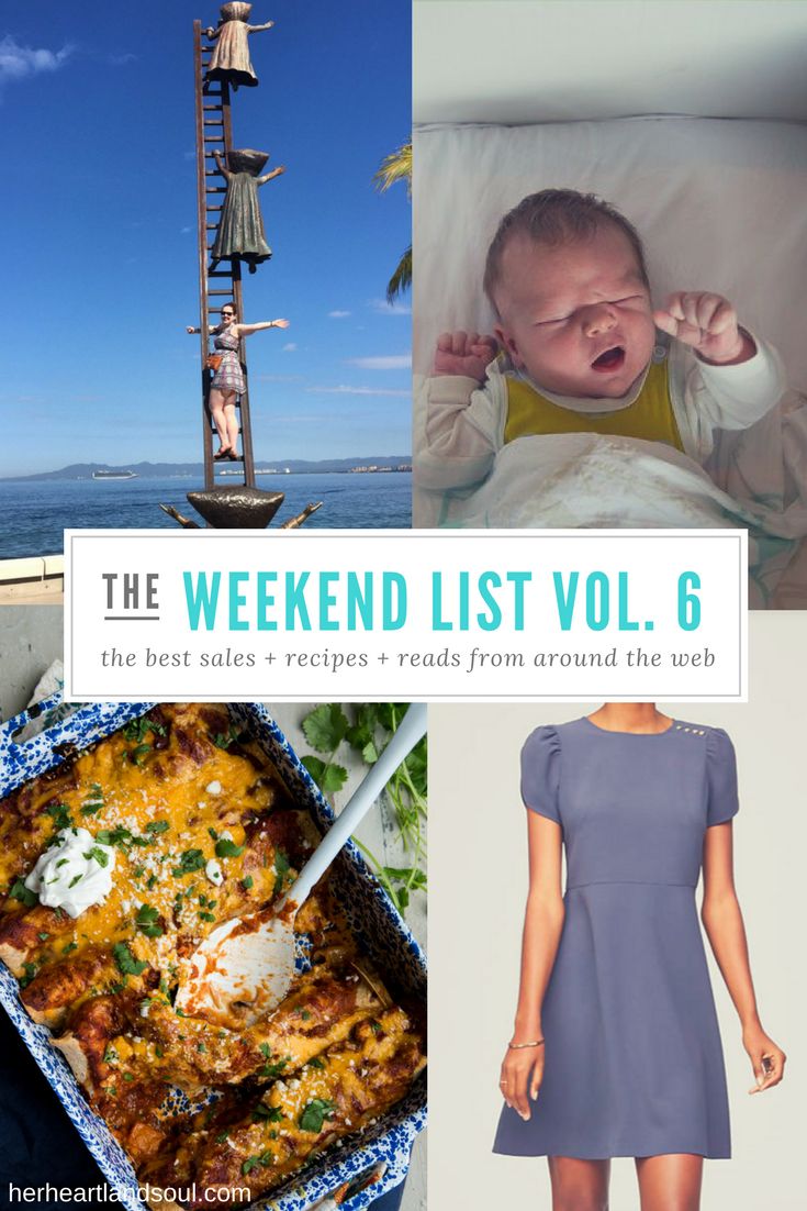 The Weekend List Vol. 6 - Her Heartland Soul