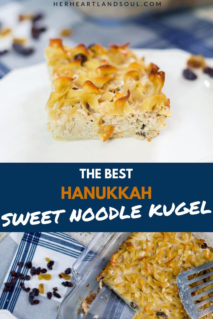 Sweet Noodle Kugel Recipe - Her Heartland Soul