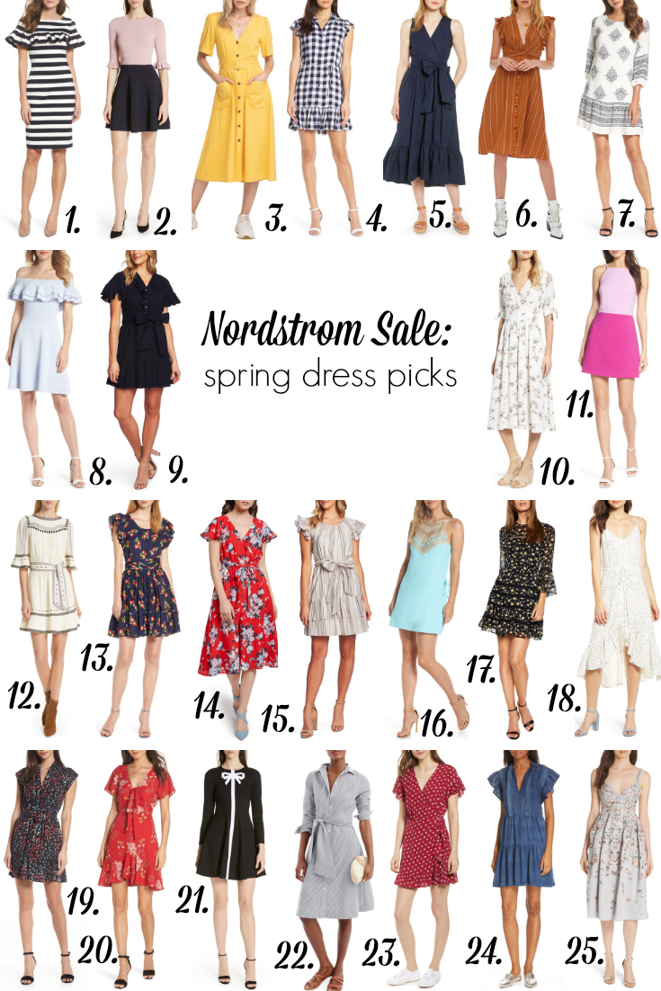 The best Nordstrom sale spring dress picks - Her Heartland Soul