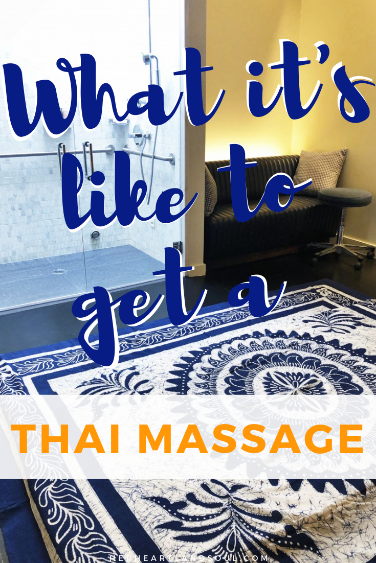 What is a Thai massage - Her Heartland Soul