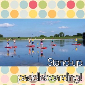 Stand-Up Paddleboarding labor day Her Heartland Soul Erin Fairchild