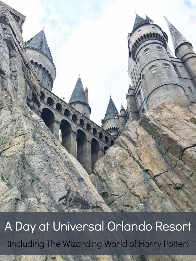 A Day at Universal Orlando Resort (including The Wizarding World of Harry Potter)
