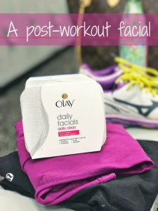 The power of a post-workout facial