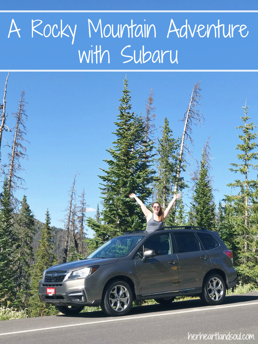 a rocky mountain adventure with subaru her heartland soul