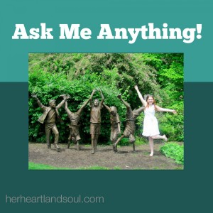 ask me anything Her Heartland Soul Erin Fairchild