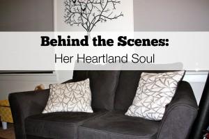 behind the scenes Her Heartland Soul Erin Fairchild