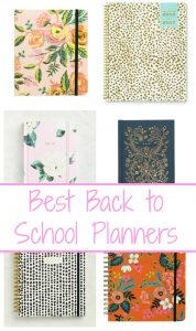 Best Back to School Planners