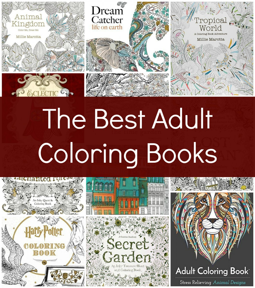 The best adult coloring books her heartland soul Coloring books for young adults