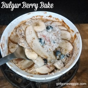 Bulgur Berry Bake Girl Gone Veggie Erin Fairchild